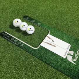 FatPlate Fairway Green tréninková pomůcka na golf Domácí golfové tréninkové studio