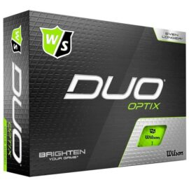 Wilson Staff DUO Optix 12-pack golfové míčky Nové míčky