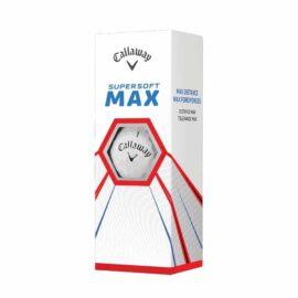 Callaway Supersoft Max 12-pack golfové míčky Nové míčky