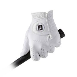 Footjoy CabrettaSof white golfové rukavice Klasické
