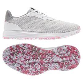 Adidas S2G Ladies grey/pink dámské golfové boty Dámské boty na golf