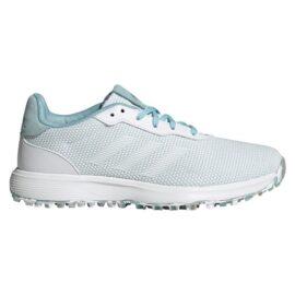 Adidas S2G Ladies white/blue dámské golfové boty Dámské boty na golf