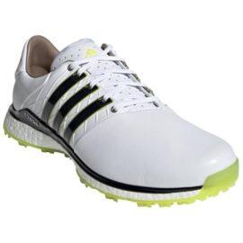 Adidas Tour 360 XT-SL 2.0 white/lime pánské golfové boty Pánské boty na golf