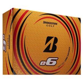 Bridgestone E6 white 12-pack golfové míčky Nové míčky