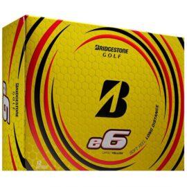 Bridgestone E6 yellow 12-pack golfové míčky Nové míčky