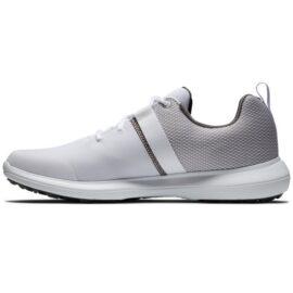 Footjoy Flex white/grey golfové boty Pánské boty na golf