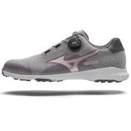 Mizuno Nexlite 008 Ladies grey BOA golfové boty Dámské boty na golf