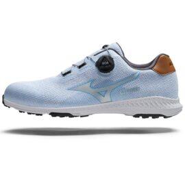 Mizuno Nexlite 008 Ladies sky blue BOA golfové boty Dámské boty na golf