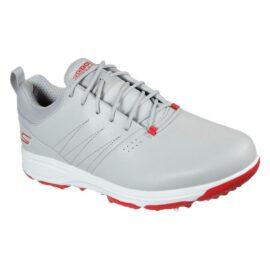 Skechers Go Golf Torque Pro grey/red pánské golfové boty Pánské boty na golf