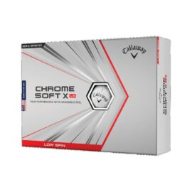 Callaway Chrome Soft X LS 12-pack golfové míčky Nové míčky
