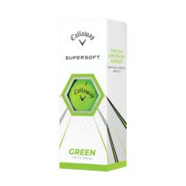 Callaway Supersoft green 12-pack golfové míčky Nové míčky