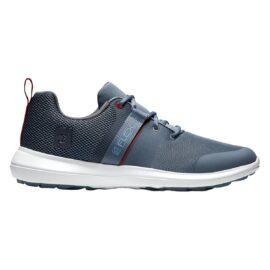 Footjoy Flex steel blue/red golfové boty Pánské boty na golf