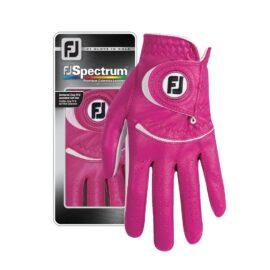 Footjoy Spectrum Ladies pink golfové rukavice Klasické dámské