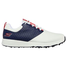 Skechers Go Golf Elite V.4 white/navy/red pánské golfové boty Pánské boty na golf