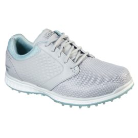 Skechers Go Golf Elite V.3 Grand Ladies grey/mint dámské golfové boty Dámské boty na golf
