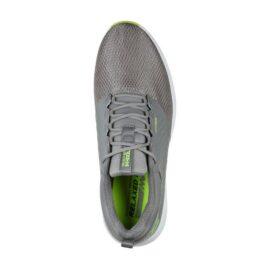 Skechers Go Golf Elite V.4 Prestige RF grey/lime pánské golfové boty Pánské boty na golf