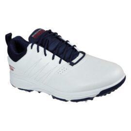 Skechers Go Golf Torque Pro white/navy pánské golfové boty Pánské boty na golf