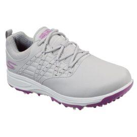 Skechers Go Golf Pro V2 Ladies grey/purple pánské golfové boty Dámské boty na golf