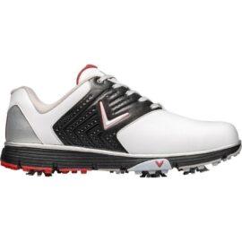 callaway chev mulligan s 2019 white black red pánské golfové boty 1
