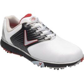 callaway chev mulligan s 2019 white black red pánské golfové boty 2