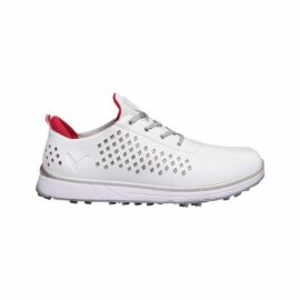 callaway halo diamond ladies white pink dámské golfové boty 1