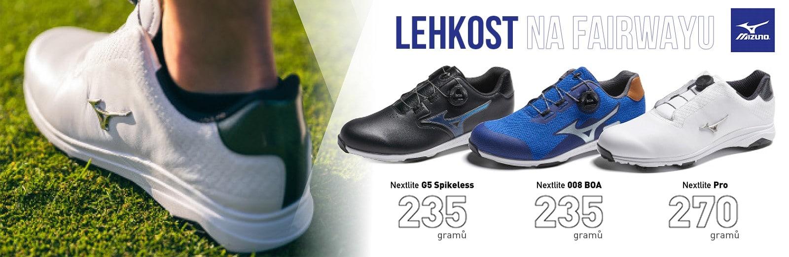 golfové boty mizuno