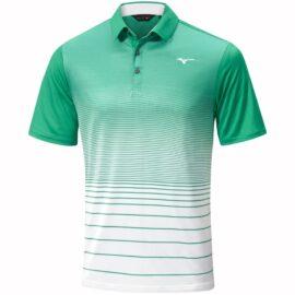 mizuno quick dry mirage polo green tričko polo 1