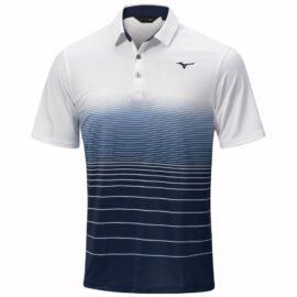 Mizuno Quick Dry Mirage Polo white tričko polo Panské trička na golf