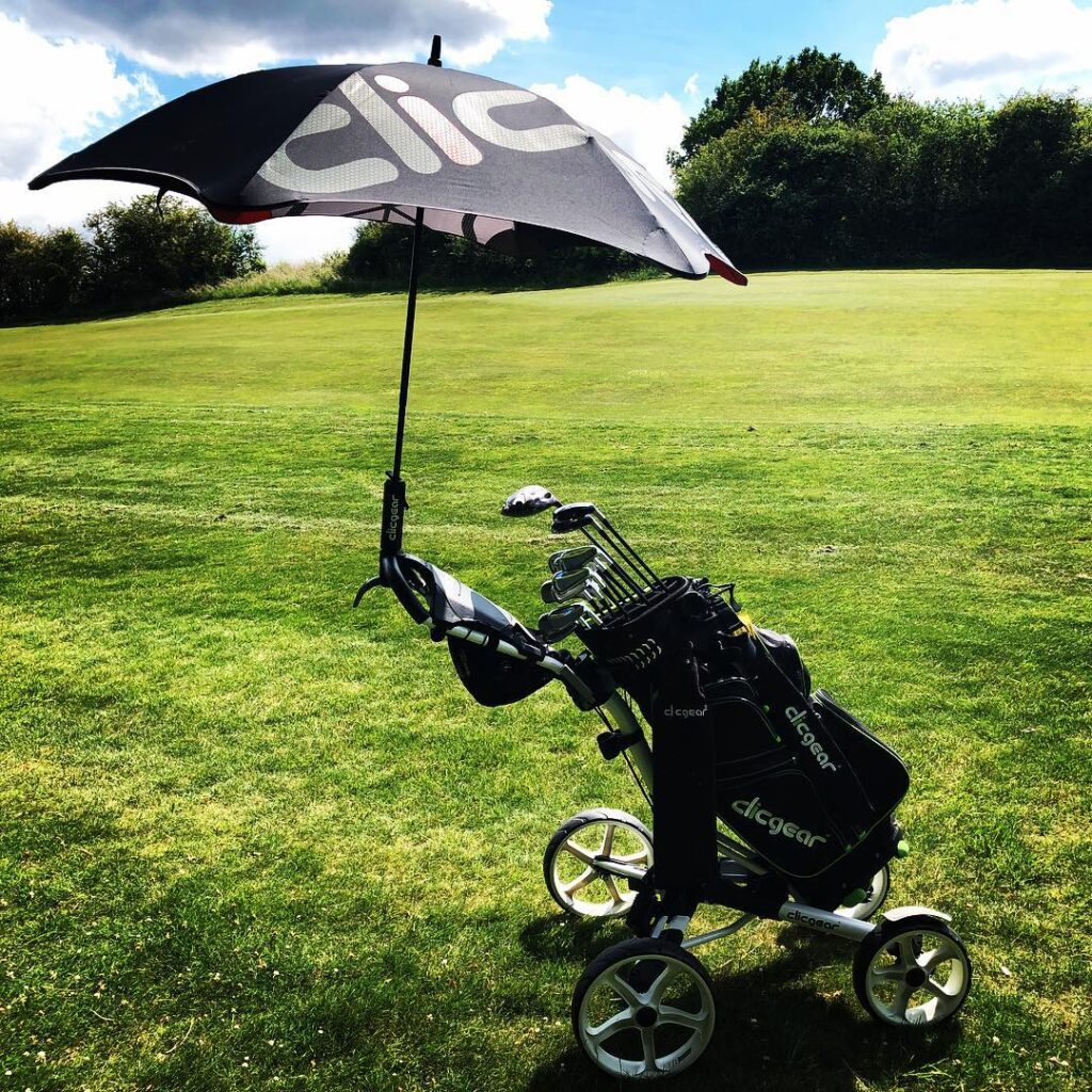 Wózek golfowy 4 kołowy Clicgear