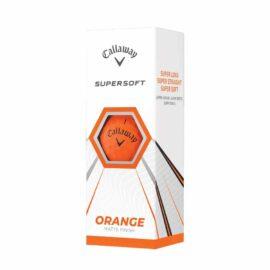 Callaway Supersoft orange 12-pack golfové míčky Nové míčky