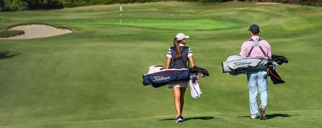 Golfové potřeby - co si vzít na golfové hřiště?
