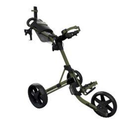 Clicgear M4 army green golfový vozík Tříkolové