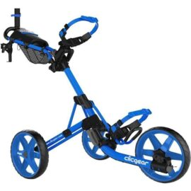Clicgear M4 blue golfový vozík Tříkolové