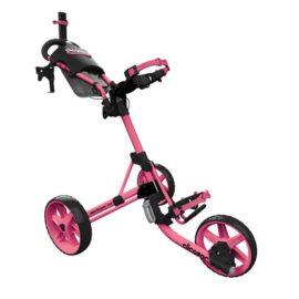 Clicgear M4 pink golfový vozík Tříkolové