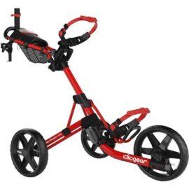 Clicgear M4 red golfový vozík Tříkolové