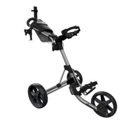 Clicgear M4 silver golfový vozík Tříkolové
