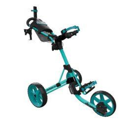 Clicgear M4 teal golfový vozík Tříkolové