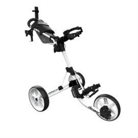 Clicgear M4 white golfový vozík Tříkolové