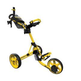 Clicgear M4 yellow golfový vozík Tříkolové