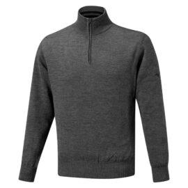 mizuno windproof jumper grey golfova svetr 1