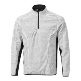 mizuno winter stretch 14zip jacket grey golfova bunda 1